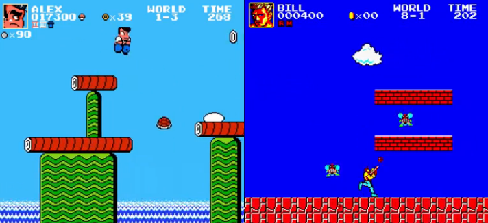 Play the Classic Super Mario....